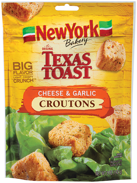 NY Bakery Cheese Garlic CroutonsNEW YCroutBaker14201067 CF   EPS 5