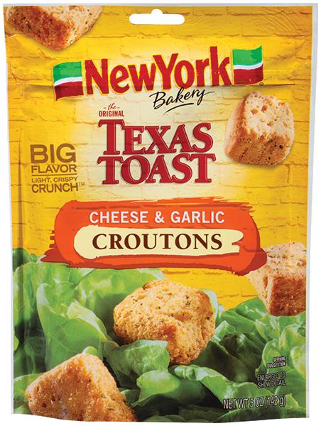 NY Bakery Cheese Garlic CroutonsNEW YCroutBaker14201067 CF   EPS 5