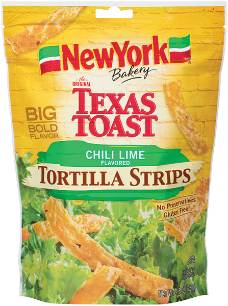 NY Bakery Chili Lime Flavored Tortilla Strips