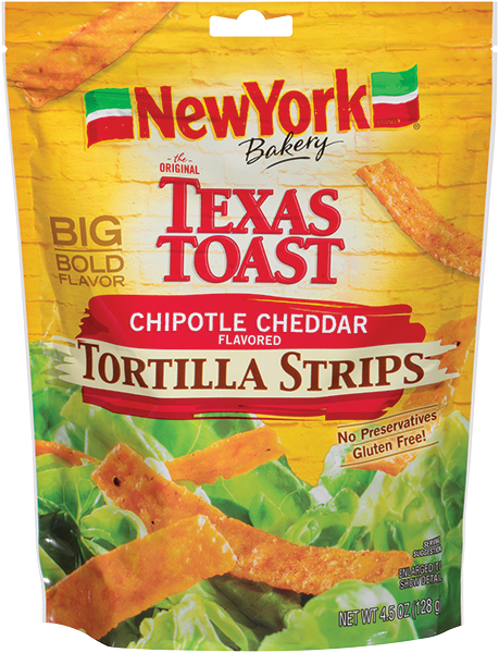 NY Bakery Chipotle Cheddar Flavored Tortilla Strips