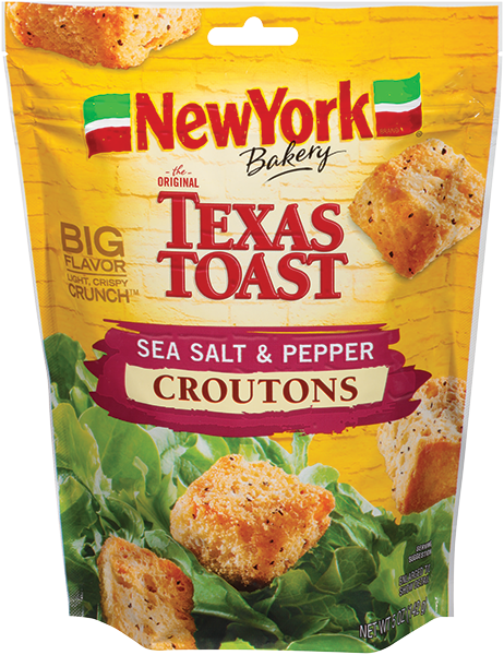 NY Bakery Sea Salt Pepper Croutons