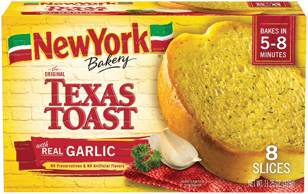 NY Bakery Texas Toast Real Garlic