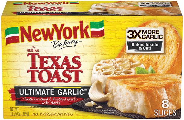 NY Bakery Ultimate Garlic Texas Toast