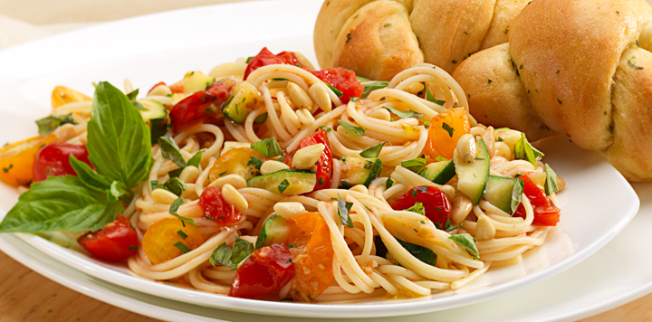 cherry tomatoes with spaghetti recipe