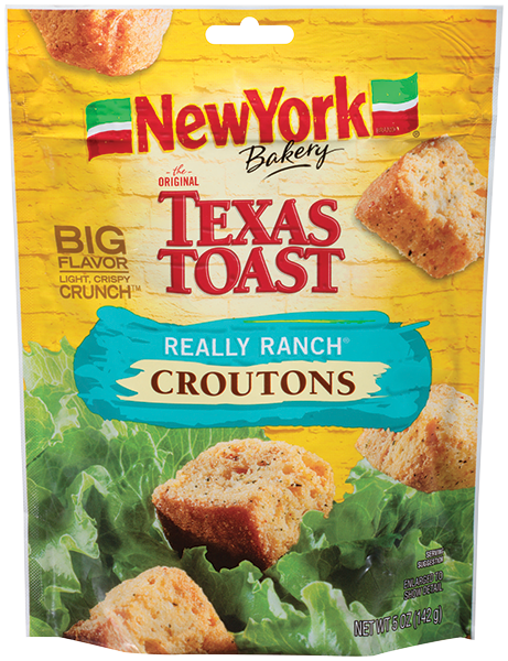 ny bakery Really Ranch Croutons